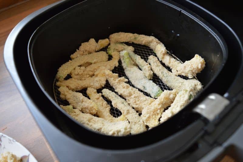 Capsicum fritters air fryer