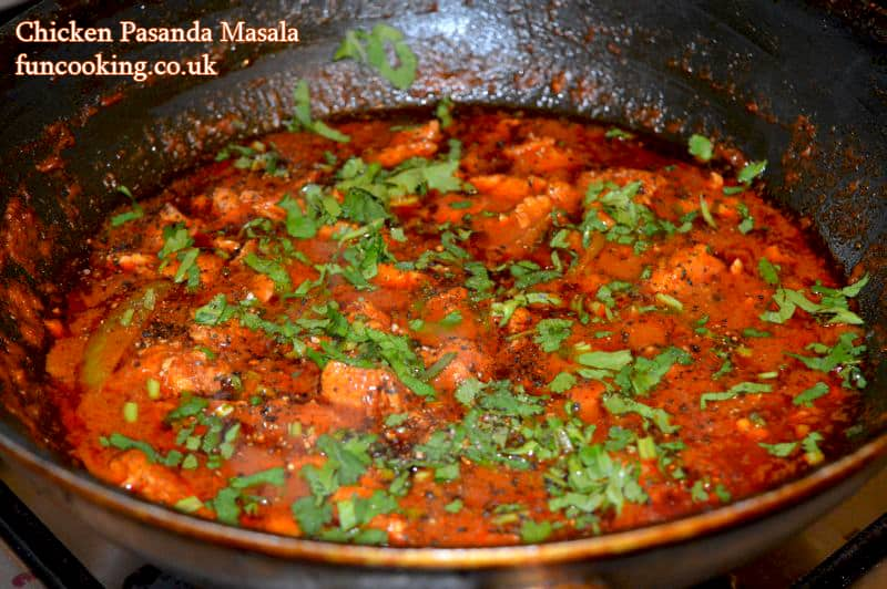 chicken pasanda masala