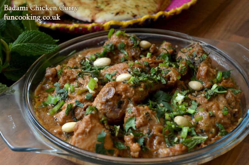 Badami Chicken curry