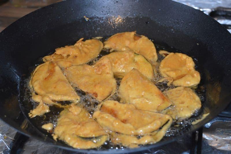 Aubergine Fritters
