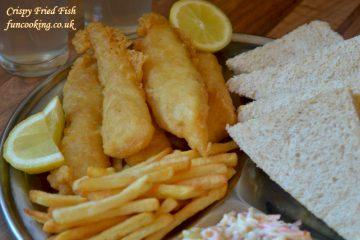 crispy fry fish