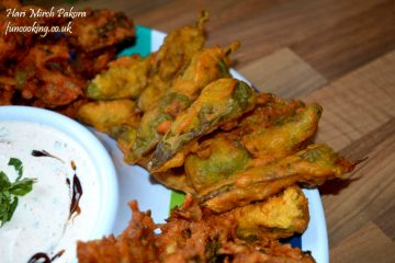 Hari mirch pakora