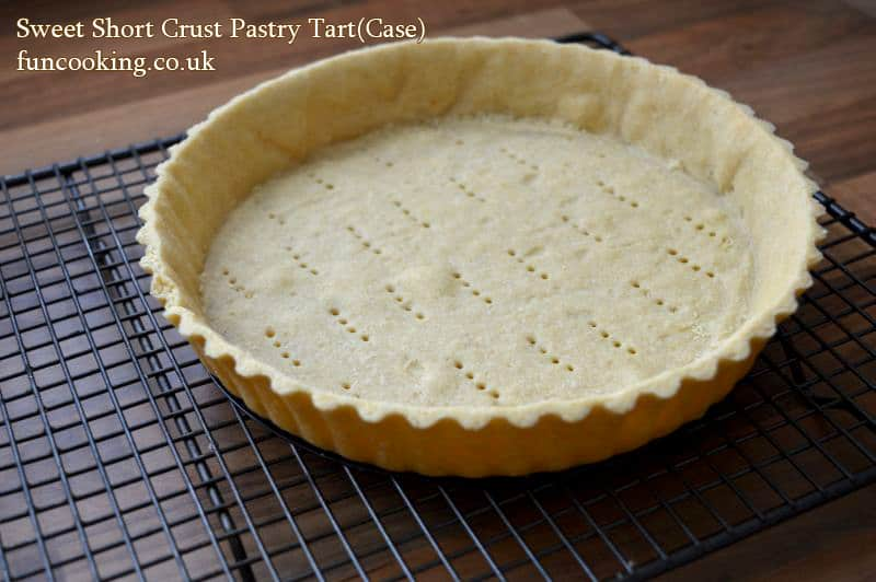 sweet pastry tart case