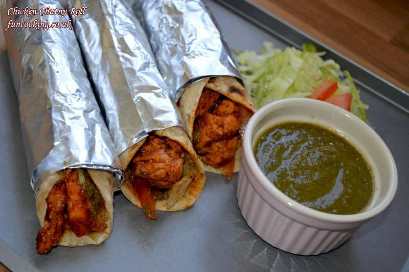 chicken chutny roll