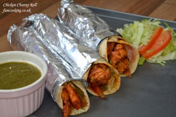 chicken chutny roll