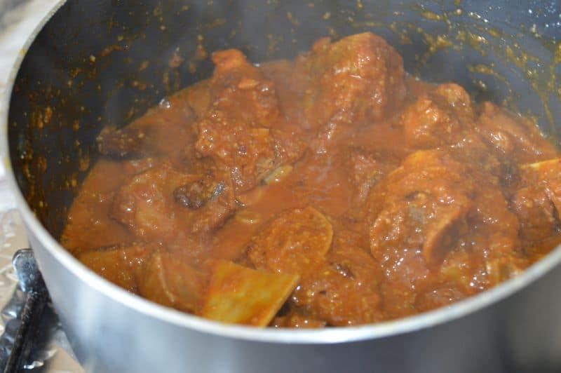 mutton badami curry