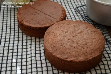 Chocolate Genoise Sponge