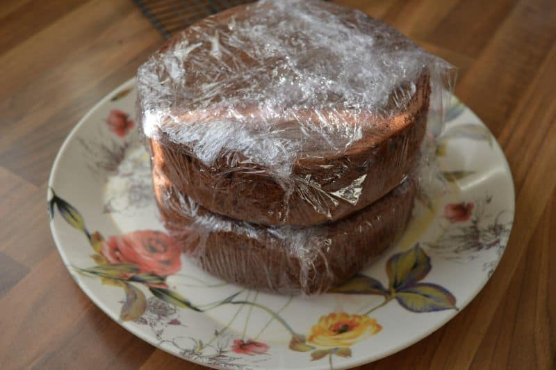 Chocolate Genoise Sponge