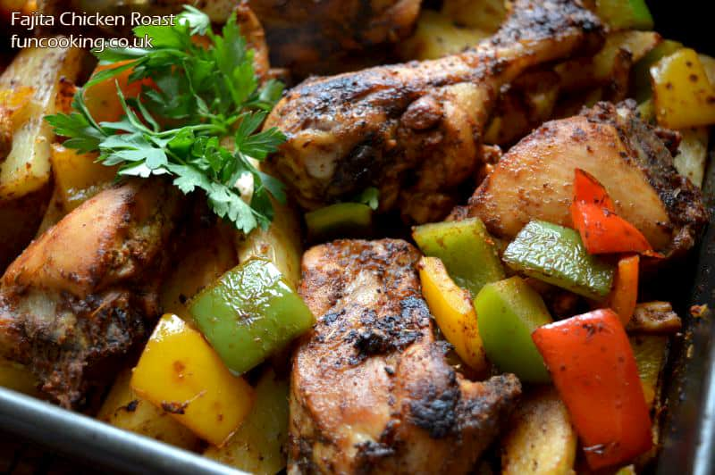 Fajita Chicken Roast