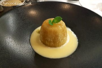 steamed sponge pudding