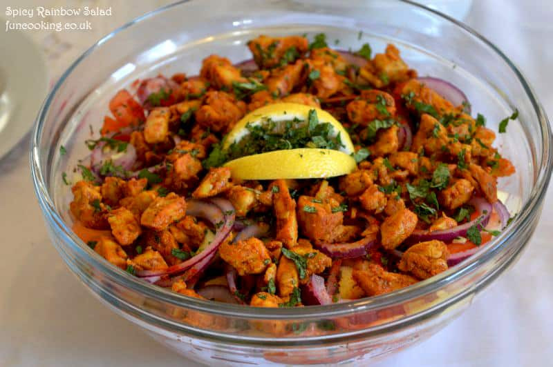 Spicy Rainbow Salad