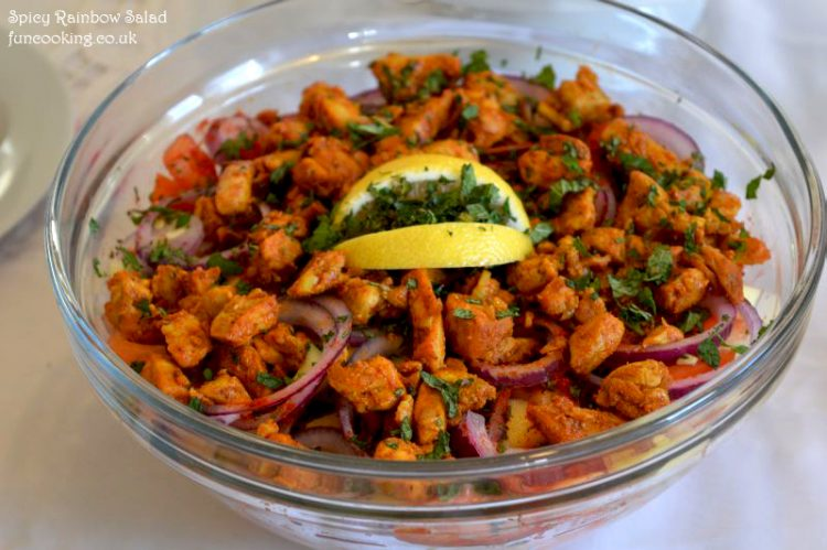 Spicy Rainbow Salad