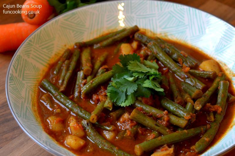 Cajun beans soup