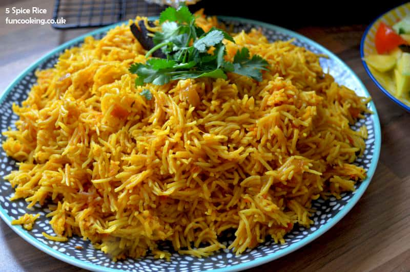 5 spice rice