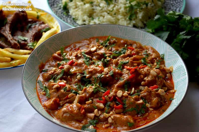 Massaman curry