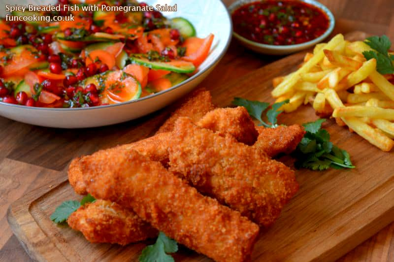 Spicy Breaded Fish