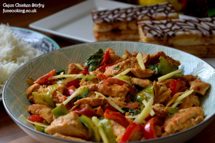 cajun chicken stir fry