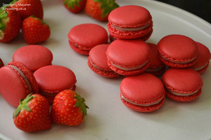 Strawberry Macarons Fun Cooking